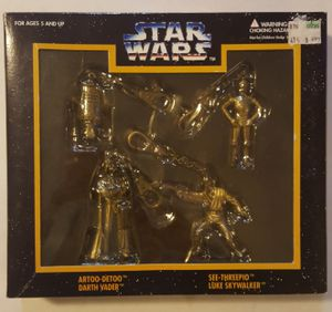 Star Wars Die Cast Keychains Box Set of 4 for Sale in Tacoma, WA