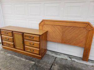 Dresser and full/queen headboard for Sale in Ocala, FL