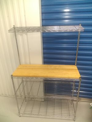 Baker's rack with cutting board for Sale in Austin, TX