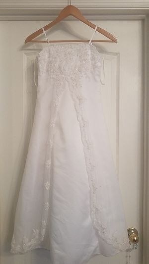 Young girls size 10 Flower girl/communion dress for Sale in Orlando, FL