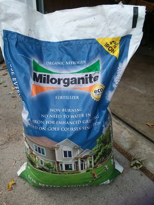 ORGANIC MILORGANITE FERTILIZER for Sale in Mounds View, MN