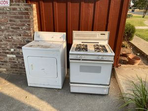Free stove and dryer for Sale in Sacramento, CA