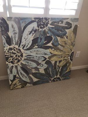 Canvas artwork picture 39x39 for Sale in DeSoto, TX