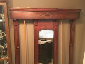 Antique Billiards Wall Rack for Sale in Wildomar, CA