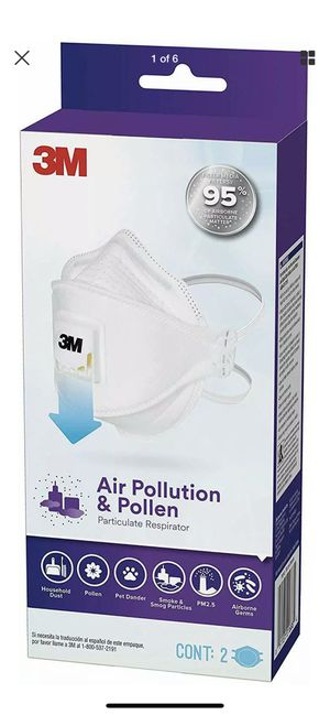 3M™ Aura™ Particulate Respirator 9211+, N95 PM2.5 ( 2 Pack Per Box ) for Sale in Milwaukie, OR