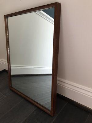 Wood Frame Mirror for Sale in Brambleton, VA