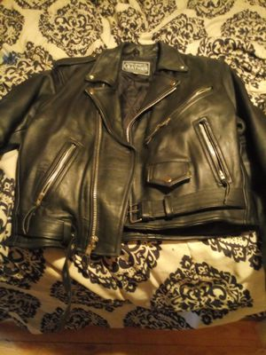 Pro sport leather motorcycle jacket for Sale in Port Richey, FL
