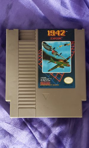1942 Nintendo Video Game Vintage for Sale in Indianola, IA