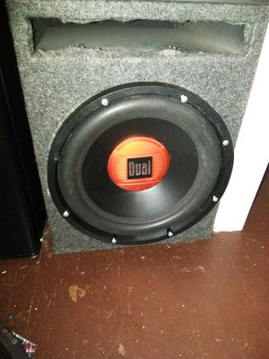 Single 12 in subwoofer for Sale in Columbus, OH