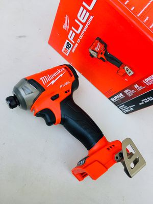 New Milwaukee FUEL SURGE Brushless Impact Drill for Sale in Modesto, CA