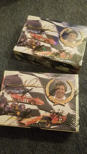 Mario Andretti vintage collectable kit for Sale in Wenatchee, WA