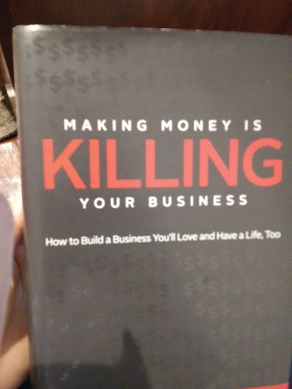 Book- making money is killing your business