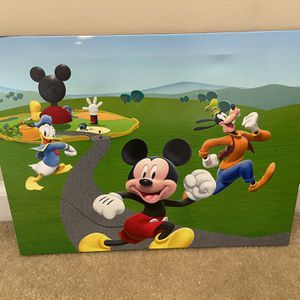 LED Mickey Mouse Canvas for Sale in Ellenwood, GA