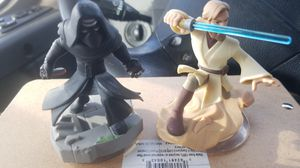 Disney infinity star wars kilo rey and ob1 canoby for Sale in North Las Vegas, NV