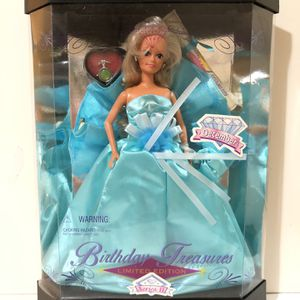Birthday Treasures Barbie Doll Limited Edition for Sale in Belleville, NJ