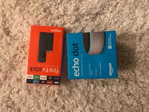 Echo dot fire tv stick for Sale in San Antonio, TX