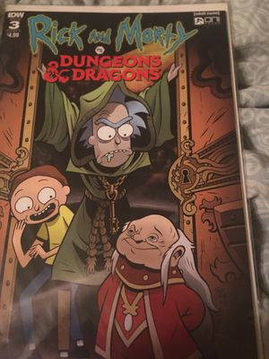 Issue #3 Rick and Morty Dungeons & Dragons for Sale in Noble, OK