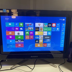 Lenovo Touchscreen Monitor w/ Built in Computer for Sale in Fort Lauderdale, FL