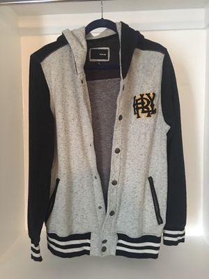 Men's Hurley Button Up Hoodie Jacket-$35.00 for Sale in Phoenix, AZ