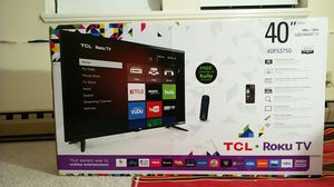 TCL Roku - LED Smart TV - 40'' 1080p .120hz for Sale in North Attleborough, MA