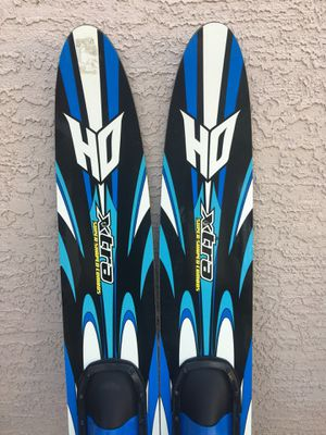 HO Xtra Water skis with training bar for Sale in Payson, AZ