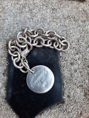 """Tiffany "" round tag bracelet for Sale in Jasper, FL"