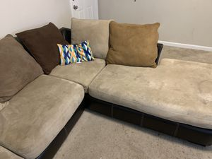 """Sectional couch """"two piece"""" for Sale in Pine Lake, GA"""