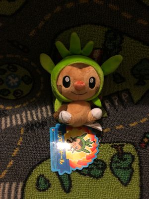 Pokemon Center Chespin Plush for Sale in Fresno, CA