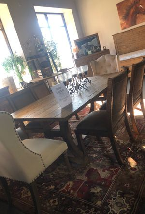 Farm house style table!! NEW ONLY $50 down for Sale in Modesto, CA