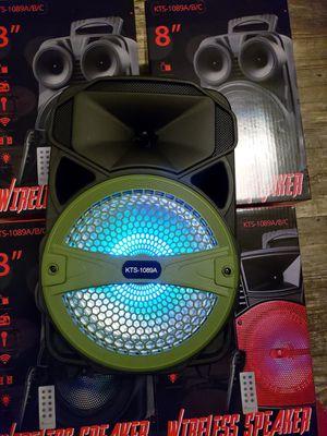 Bocinas recargables nuevas pequenas small speaker rechargeables for Sale in Dale, TX