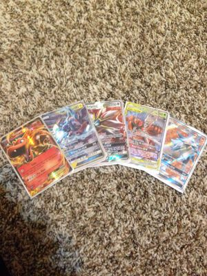 Pokemon cards 4GX 1EX for Sale in Richardson, TX