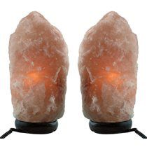 Himalayan Natural Salt Lamp- TWO Pack- Multiple Sizes (7-9 inch) for Sale in Houston, TX