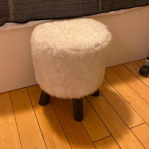 furry stool for Sale in Los Angeles, CA