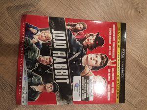 JoJo Rabbit 4K disc! 4K and Blu Ray discs! No digital! for Sale in Orange, CA