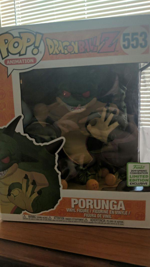 DragonBall Z Porunga Convention Exclusive Funko Pop