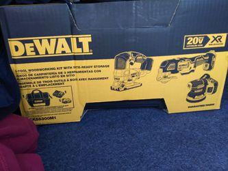 Dewalt 3 Tool Kit With 4amp Batt, Charger & Bag for Sale in Spokane, WA