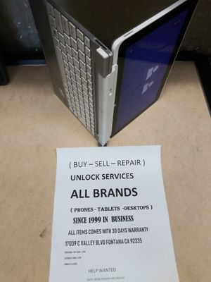 Hp laptop tablet for Sale in Fontana, CA