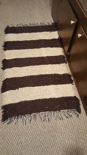 Wool decor rug for Sale in Traverse City, MI