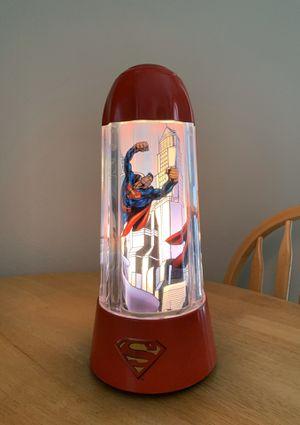 Vintage Superman Revolving Lamp for Sale in Kingsburg, CA