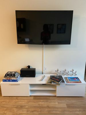 Wayfair White TV Stand for Sale in Portland, OR
