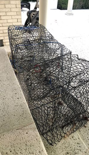 Crab pots - need some wire adjustments / repair for Sale in Virginia Beach, VA
