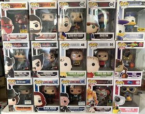 Funko Pop - Marvel, games, disney, stranger things, shows for Sale in Southborough, MA