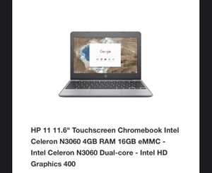 HP Chromebook for Sale in Concord, NC