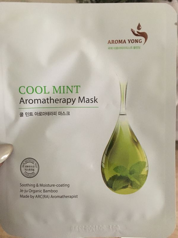 Aroma Yong Cool Mint Face Masks