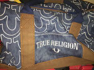 True religion duffel bag for Sale in Alexandria, VA