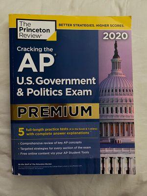 AP U.S Government and Politics Exam PREMIUM book for Sale in Chula Vista, CA