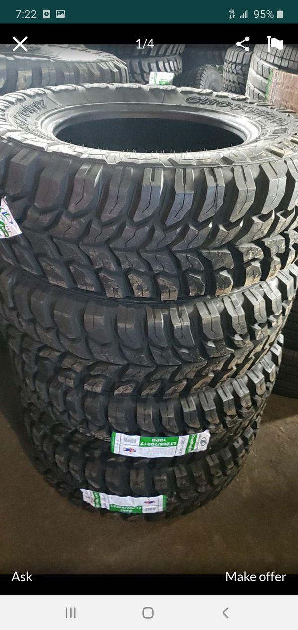 265 70 17 mud terrain $499