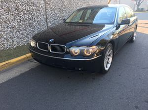 2003 BMW 745 long body low miles 86k miles for Sale in Fairfax, VA
