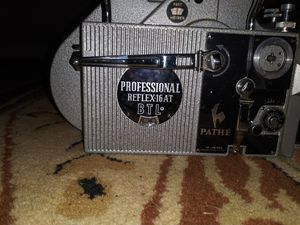 Vintage. PATHE professional movie camera for Sale in Tyler, TX