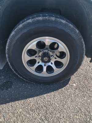 Outlaw rims / Cooper A/T tires for Sale in Tacoma, WA
